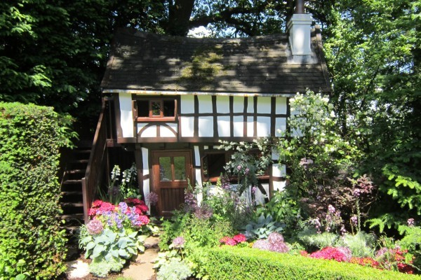 27 Year Old Tudor Style Wendy House By Flights Of Fantasy