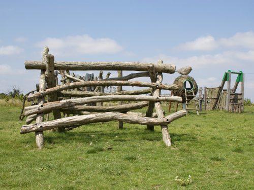 A Frame Log Climb