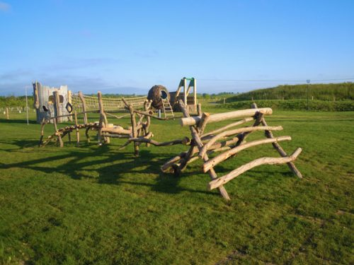 Abberton Reservoir Rustic Outdoor Play Area