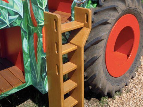 Access Steps Stepladder