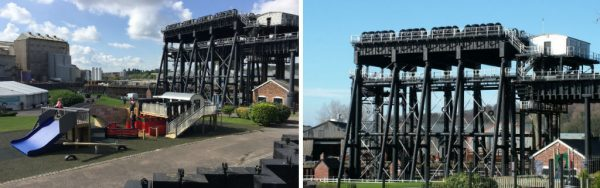 Anderton Boat Lift Miniature Replica Playground