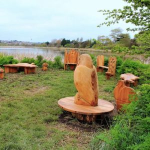 Animal Themed Furniture And Seating Wooden Sculpture Carving By Flights Of Fantasy