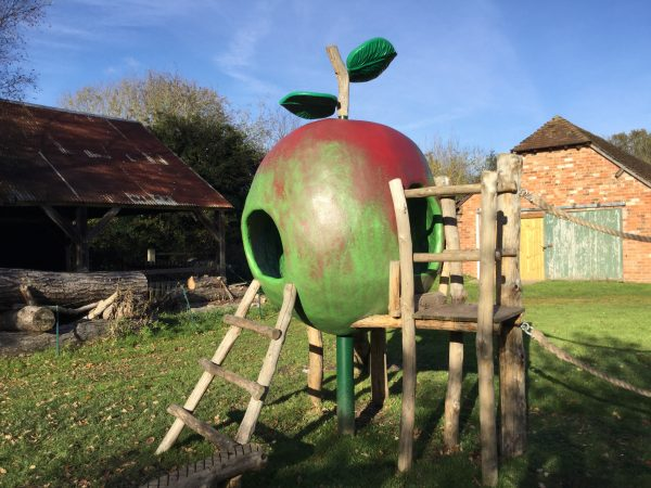 Apple Climb Frame Play Area Avoncroft Museum Of Historic Buildings