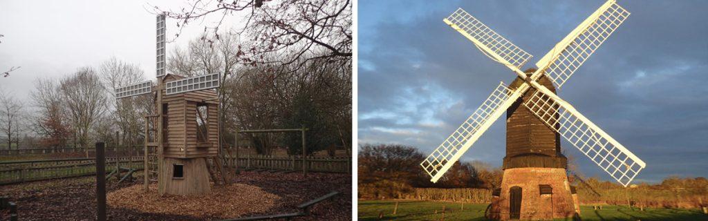 Avoncroft Windmill Replica