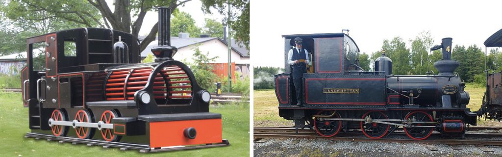Blj4 Langshyttan Replica Play Train