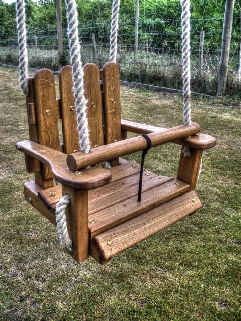 Swings flights of fantasy - How to build an outdoor wooden playground ...