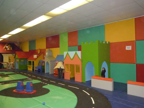 Back Wall Cheeky Monkey Nursery Indoor Childrens Play Area 1