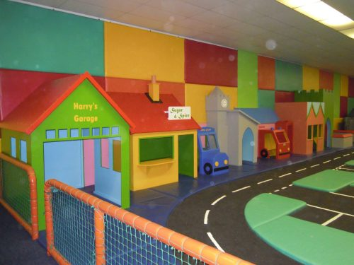 Back Wall From Left Cheeky Monkey Nursery Indoor Childrens Play Area 1