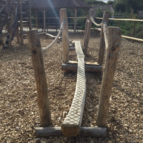 Balance Beam Knockhatch Fort Chestnut Wood Adventure Play Area E1516348912963