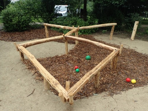 Ball Run Fountains Abbey And Studley Foyal Extensive Rustic Outdoor Woodland Play Area By Flights Of Fantasy