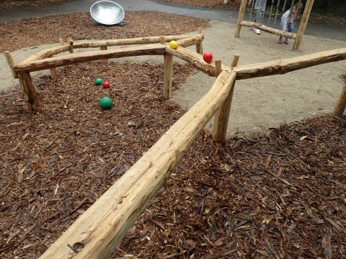 Ball Run Top View Fountains Abbey And Studley Foyal Extensive Rustic Outdoor Woodland Play Area By Flights Of Fantasy