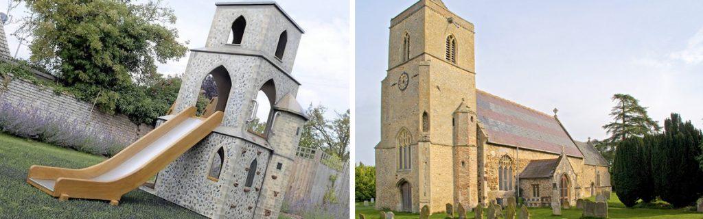 Barton Bendish Replica Church