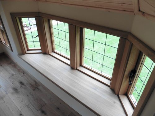 Bay Window Interior Styling – Moat Playhouse Children's Wooden Bespoke Wendy House With Bay Window