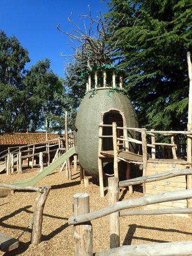 Ffolkes Arms Hotel Adventure Playground Egg