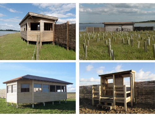 Bird Hides At Abberton Reservoir