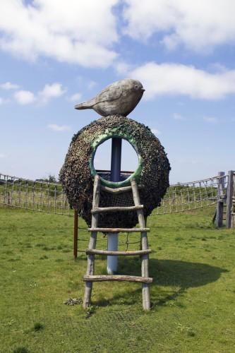 Bird Nest Abberton Reservoir Childrens Outdoor Play Area By Flights Of Fantasy