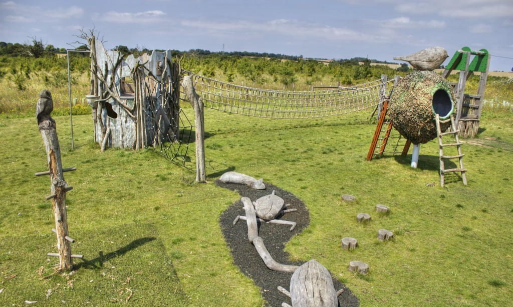 Bird Nest Multi Play Tower Rope Bridge Carvings Abberton Reservoir Childrens Outdoor Play Area By Flights Of Fantasy E1481993480948