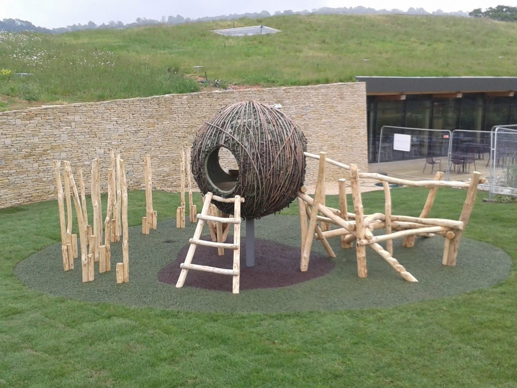 Bird Nest Westmorland Gloucester Services M5 Outdoor Play Area Maze Labyrinth