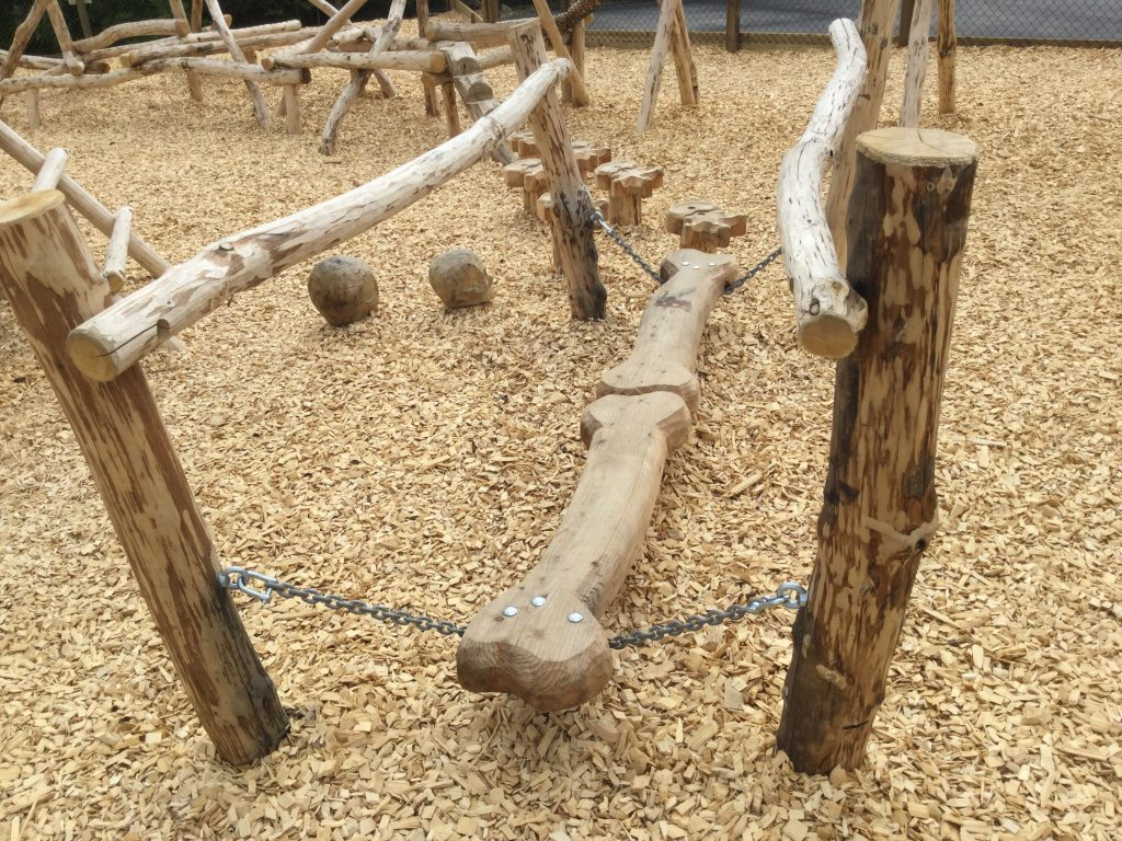 Bone Wobbly Bridge Folly Farm Pirate Play Area Playground