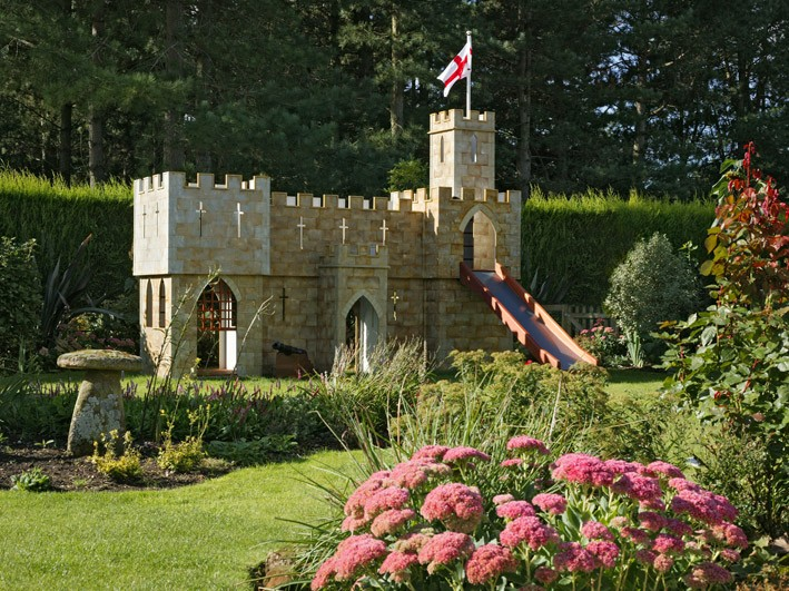 Bottom Of The Garden Congham Childrens Play Castle