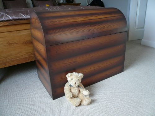 Bottom Of The Bed Wooden Pirate Treasure Chest For Children Childrens Furniture Toy Box 1