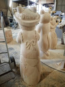 Brambly Hedge Work In Progress Carvings By Flights Of Fantasy