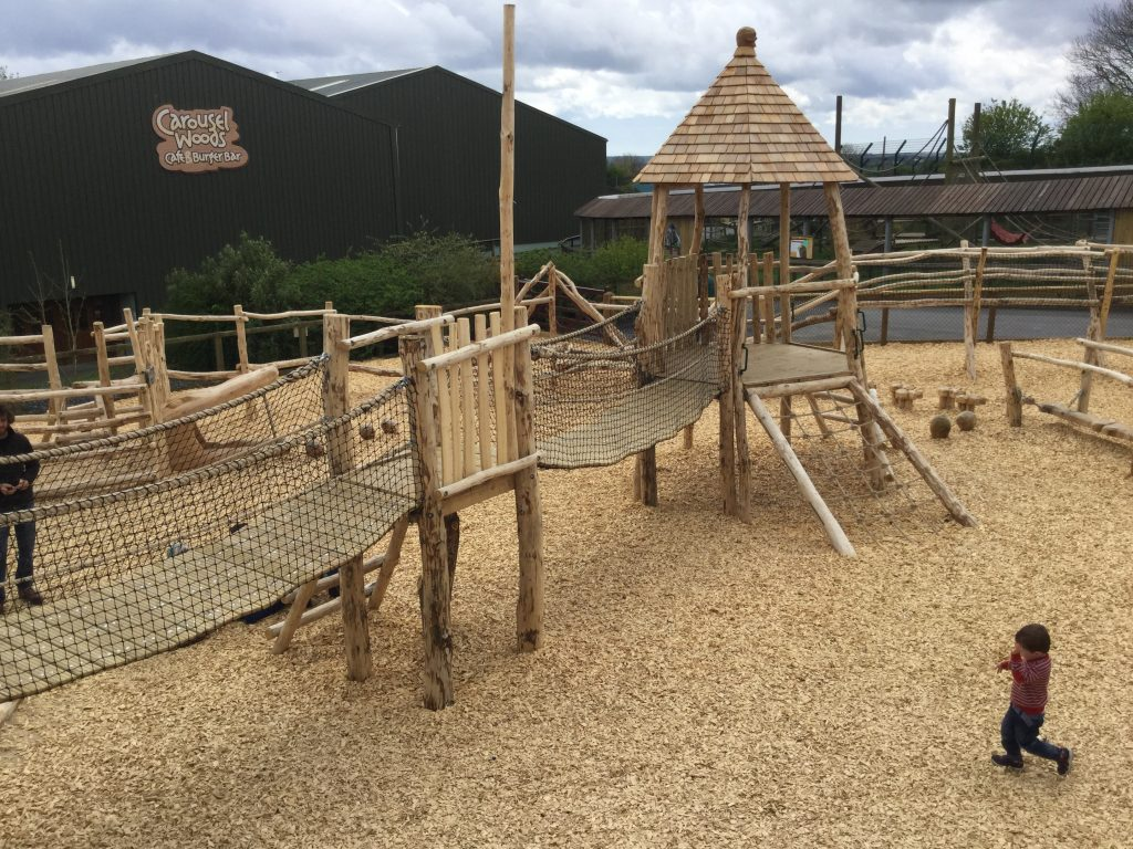 Bridges Folly Farm Pirate Play Area Playground