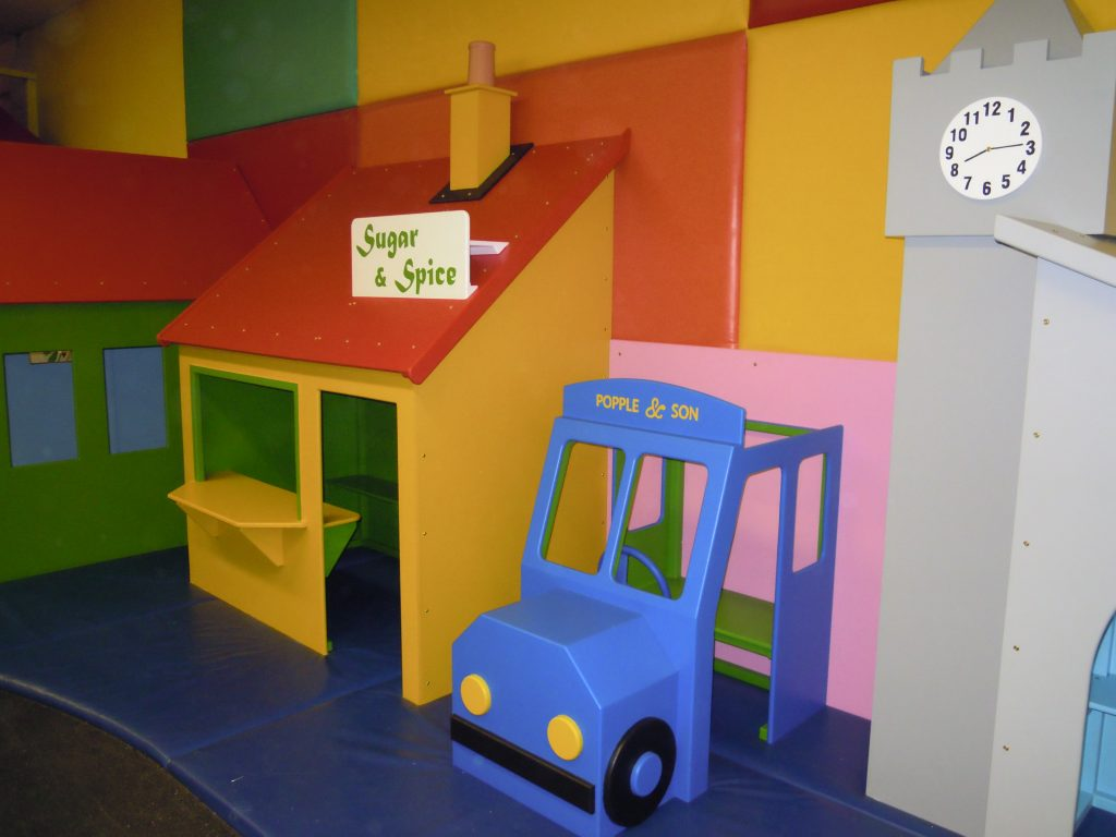 Bus Cheeky Monkey Nursery Indoor Childrens Play Area 1