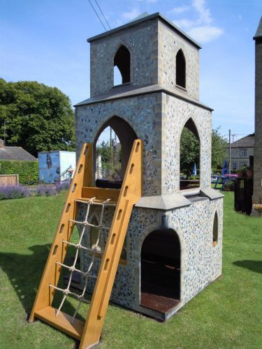 Cargo Net Barton Bendish Replica Church Childrens Multi Play Tower 1
