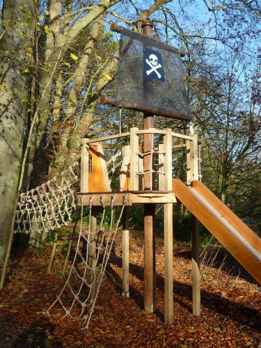 Cargo Net Winchester Tower Private Play Area Playground By Flights Of Fantasy