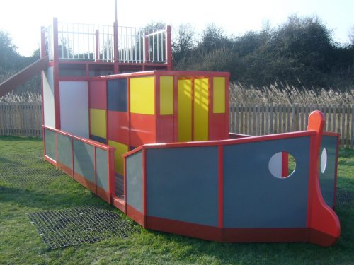 Cargo Ship Rspb Newport Outdoor Play Area With Lighthouse And Cargo Ship By Flights Of Fantasy