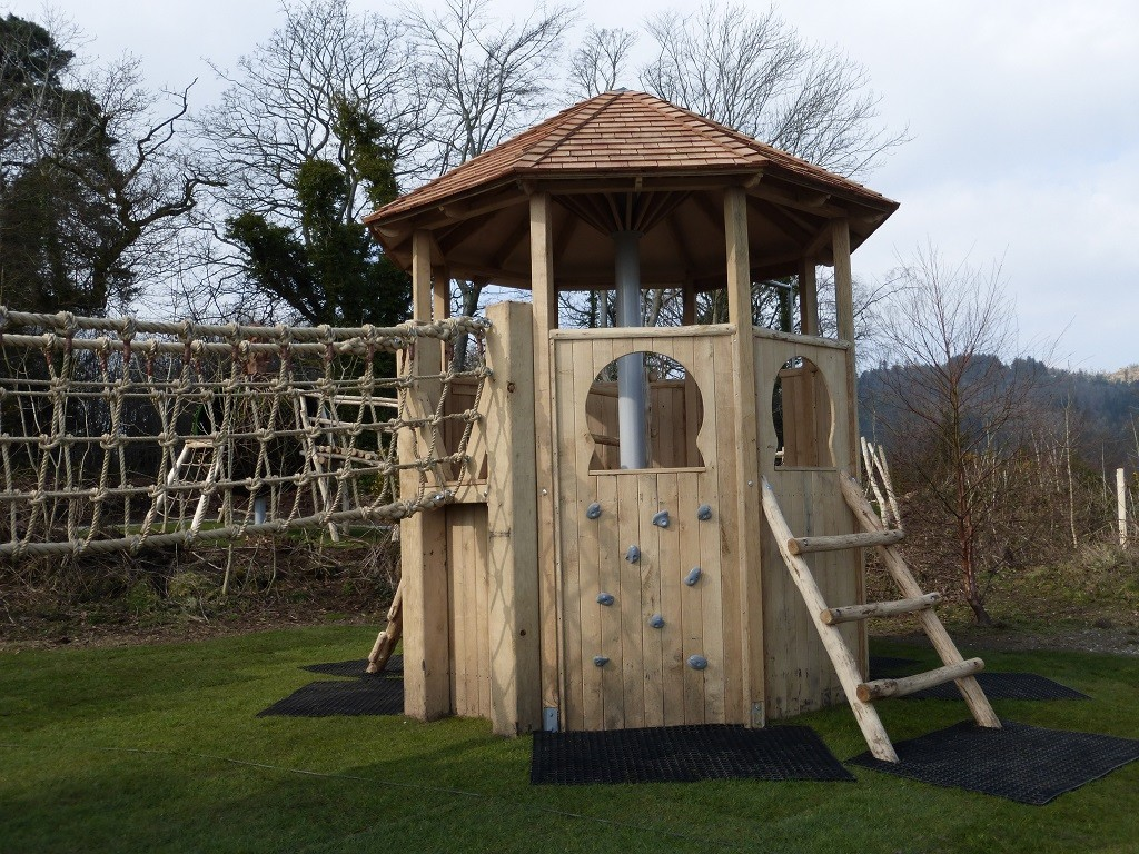 Wooden Play Tower