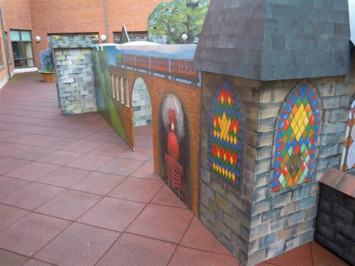 Chapel Gloucestershire Royal Hospital Rooftop Play Area