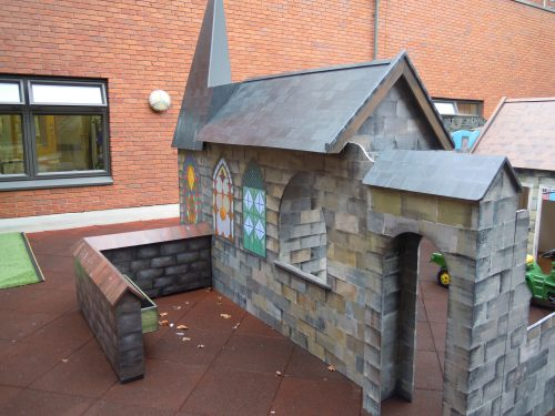 Chapel View Gloucestershire Royal Hospital Rooftop Play Area