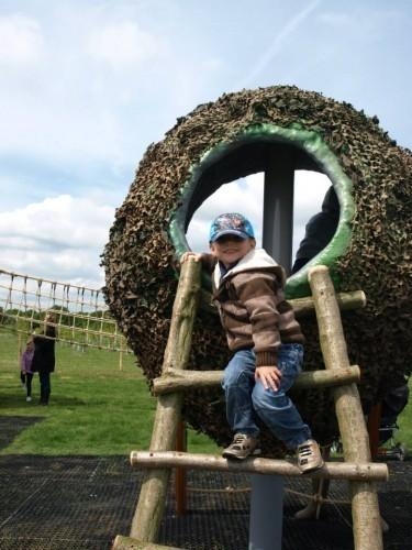 Child In Bird Nest Abberton Reservoir Childrens Outdoor Play Area By Flights Of Fantasy
