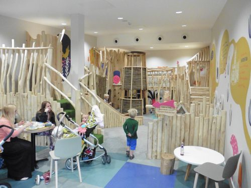 Children Playing Westmorland Gloucester Services M5 Indoor Play Area Northbound and Southbound