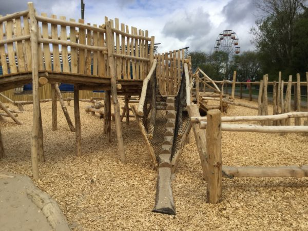 Climb Apparatus Folly Farm Pirate Play Area Playground