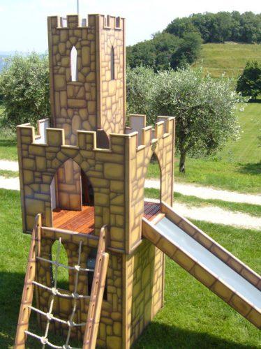 Climb Net Astrids Tower Childrens Play Castle