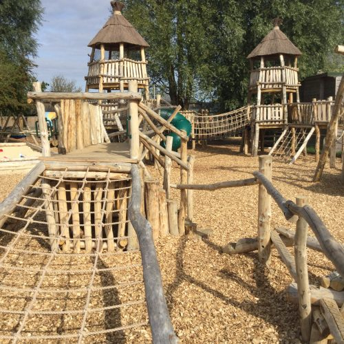 Climb Net Knockhatch Fort Chestnut Wood Adventure Play Area E1516348870669