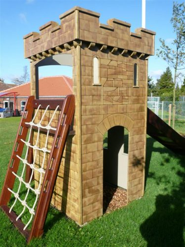 Climb Net Watton Sure Start Play Tower Childrens Play Castle