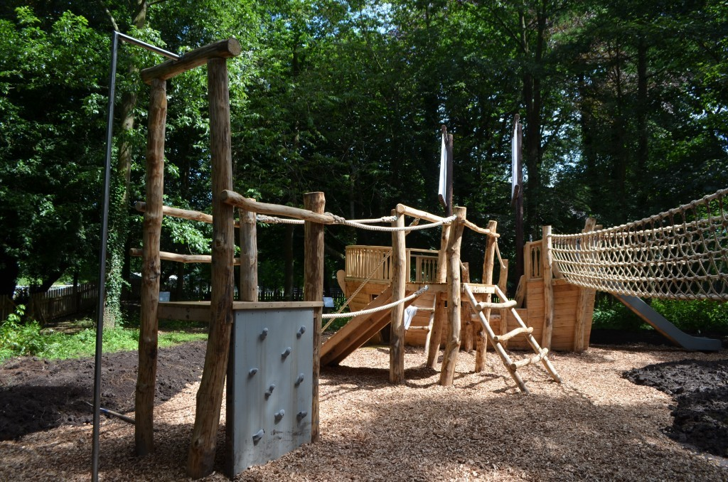 Climb Tower Samlesbury Hall Childrens Outdoor Play Area With Replica Landmark And The Mayflower Play Ship By Flights Of Fantasy