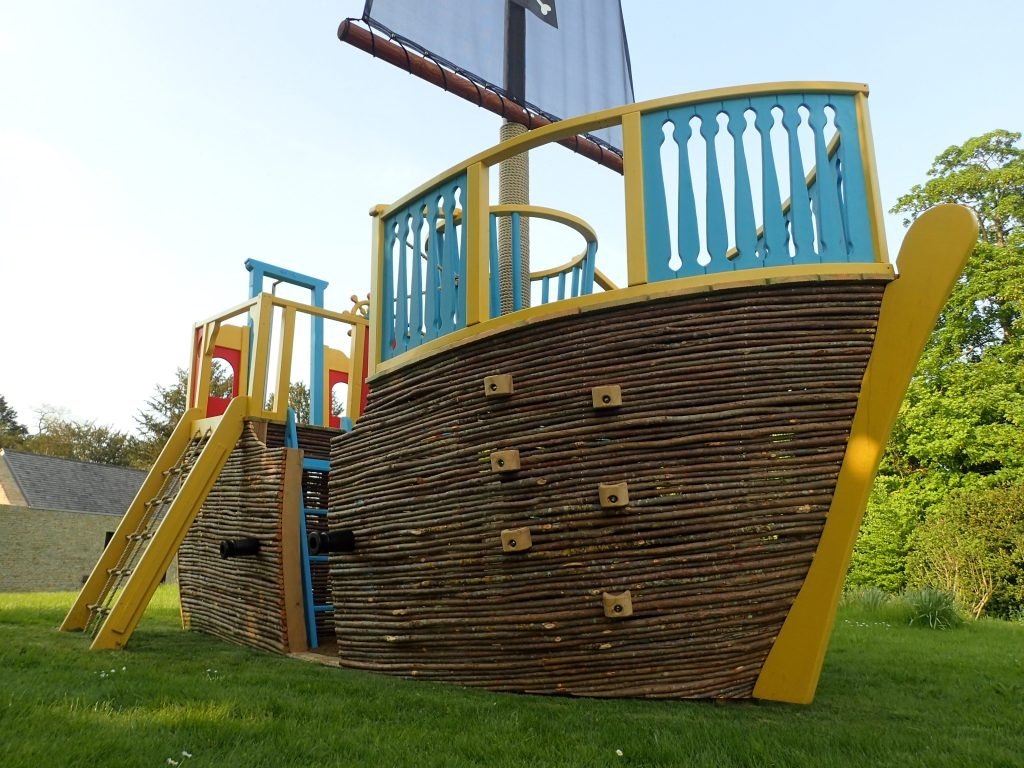 Climb Wall Ahoy Matey Play Pirate Ship