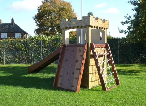 Climb Wall And Climb Net Watton Sure Start Play Tower Childrens Play Castle