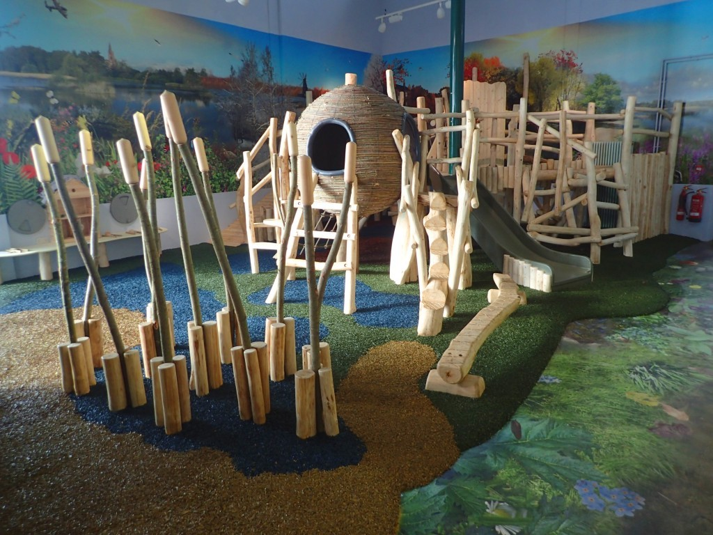 Climbing Apparatus Whisby Natural World Indoor Play Area Natural Themed With Wall Mural 01