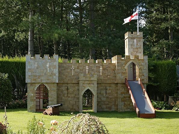 Congham Castle Front View