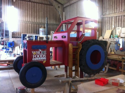 Construction Whole Food Cheltenham Red Play Tractor