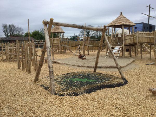 Crocodile Swing Folly Farm Pirate Play Area Playground