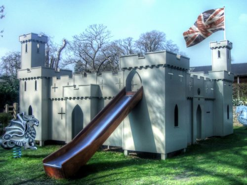 Croft Castle Themed Play Area
