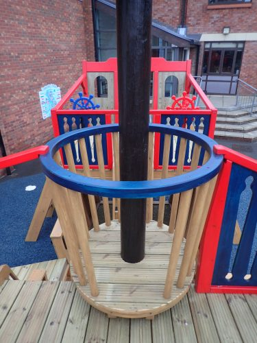 Crows Nest The Grange School Pirate Ship Play Area E1483978826153