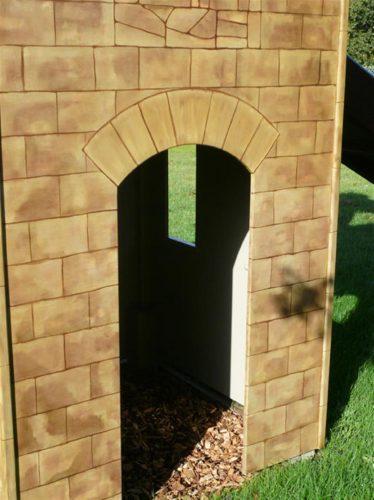 Door Watton Sure Start Play Tower Childrens Play Castle